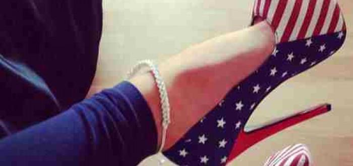 Walk in Stiletto Heels American Stiletto