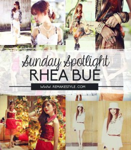 Sunday Spotlight: Rhea Bue