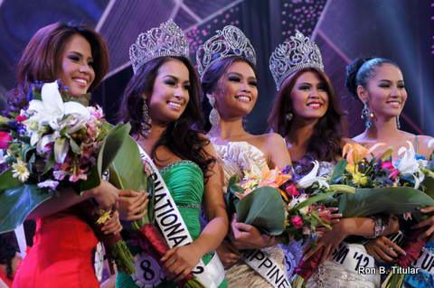 Bb. Pilipinas 2012 Winners