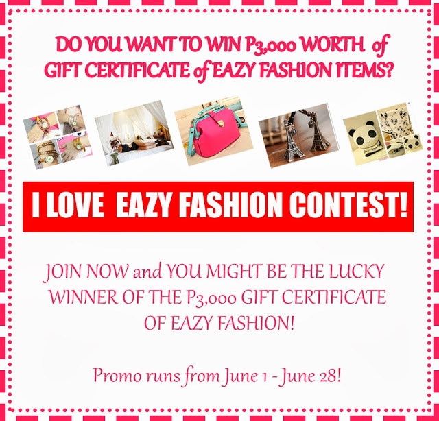 I Love Eazy Fashion Contest