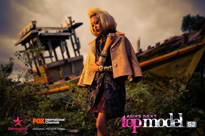 Sheena Won in Asia's Next Top Model Season 2