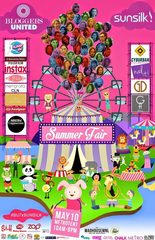 Bloggers United 7 Summer Fair