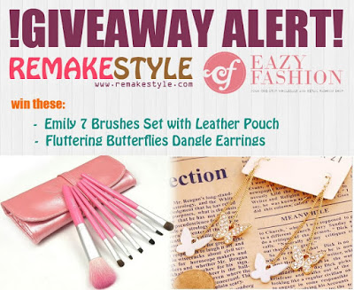 Win Beauty and Fashion Products Giveaway (CLOSED)