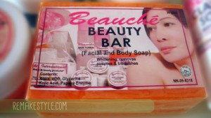 My Initial Experience from Using Beauche Beauty Bar Soap