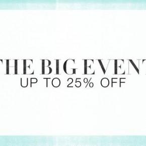The Big Event Sale