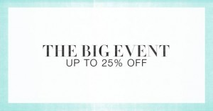 The Big Event Sale