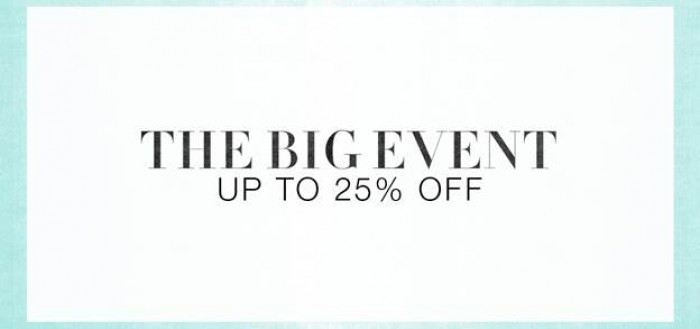 The Big Event Sale at Shopbop