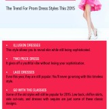 Hottest Prom Dress Styles For The Year 2015