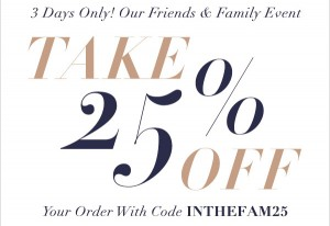 Friends and Family Event Sale at Shopbop Now Happening