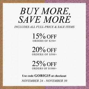 Shopbop's Biggest Sale