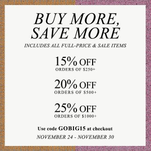 Shopbop's Biggest Sale
