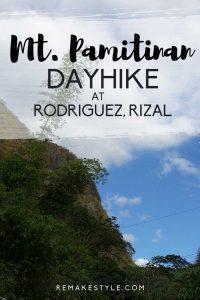 Mt. Pamitinan Dayhike at Rodriguez, Rizal